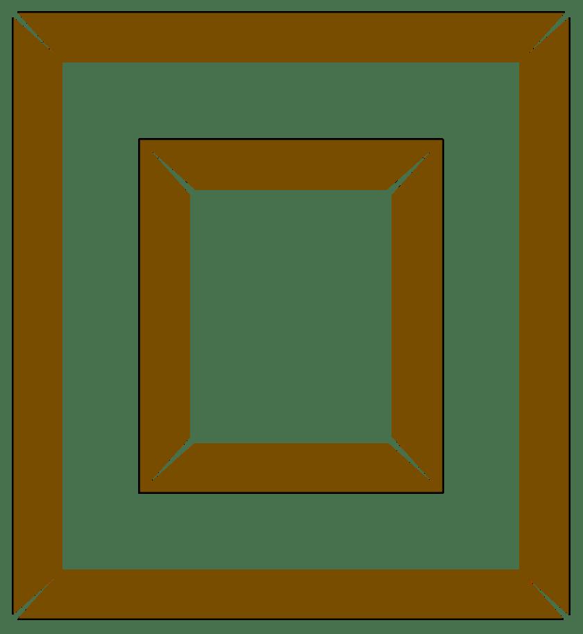 picture frames showing that your sander needs adjusting