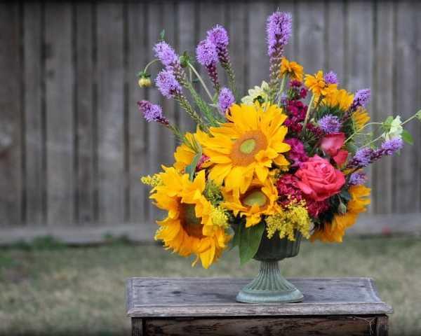 Large Vased Bouquet