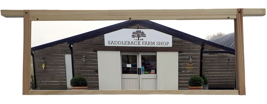 Saddleback Farmshop, Farnborough, Berkshire, Set into a Hive Frame