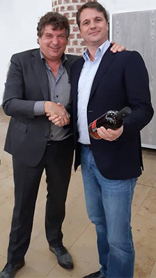 Jan Beek en Patrick van Zuidam op het Pot Still Festival 2018