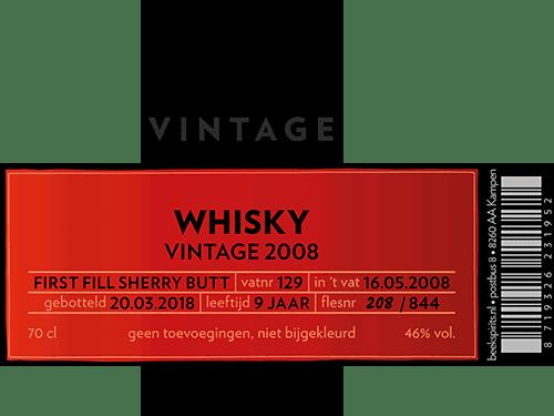 Beek_etiket_vintage_whisky_001_Vintage 2008