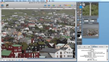 Foto's bewerken met Graphic Converter