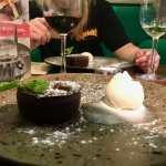 dessert from zizzi's