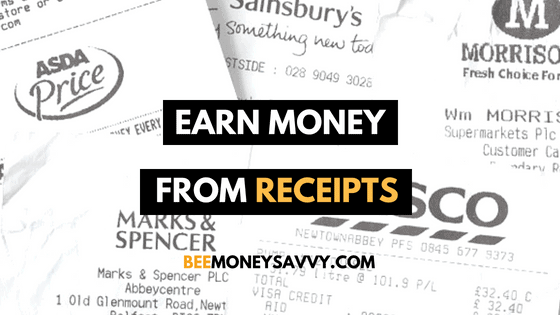 How to Earn Money from Receipts