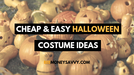 Cheap & Easy Halloween Costume Ideas