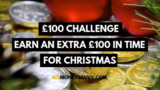 £100 Christmas Challenge – Earn an Extra £100 for Christmas