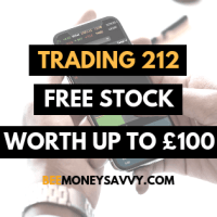 Trading 212: Free Stock Worth up to £100!