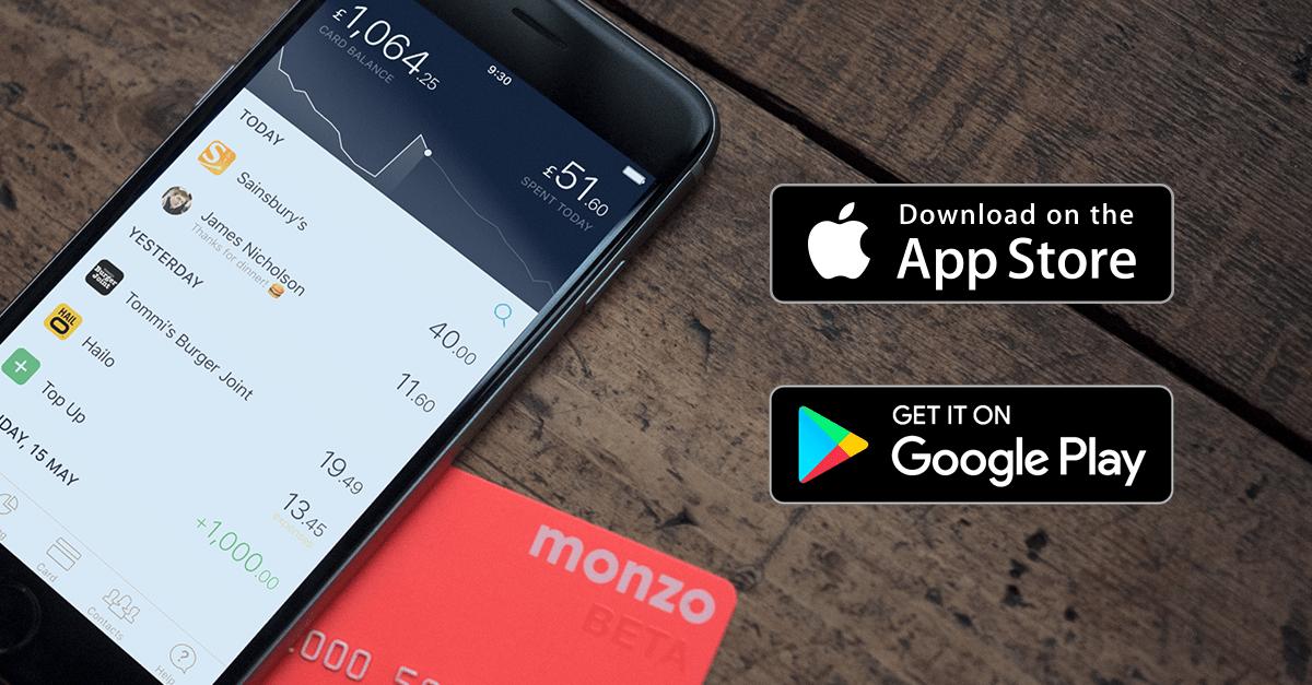 Monzo Virtual Banking