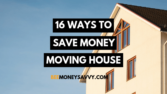 16 Ways To Save Money When Moving House