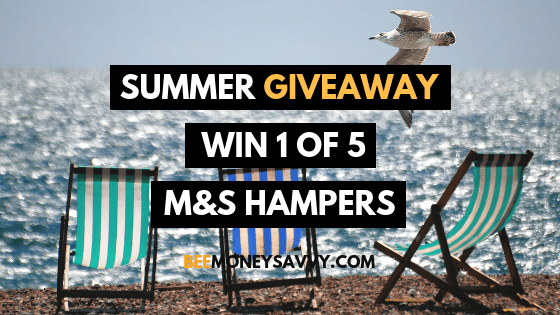 SUMMER GIVEAWAY! Win 1 of 5 M&S Hampers!