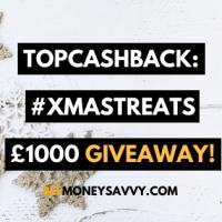 TopCashback: #XmasTreats £1000 Giveaway!