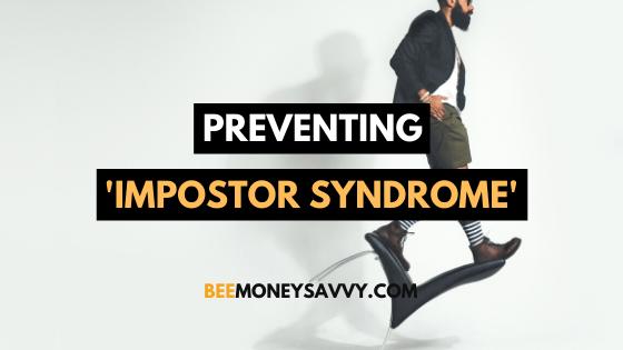 Preventing 'Impostor Syndrome'