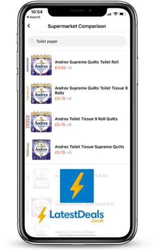 Latest Deals App Supermarket Comparison Tool