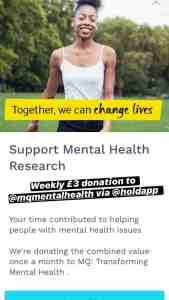 Support Mental Health Research MQ
