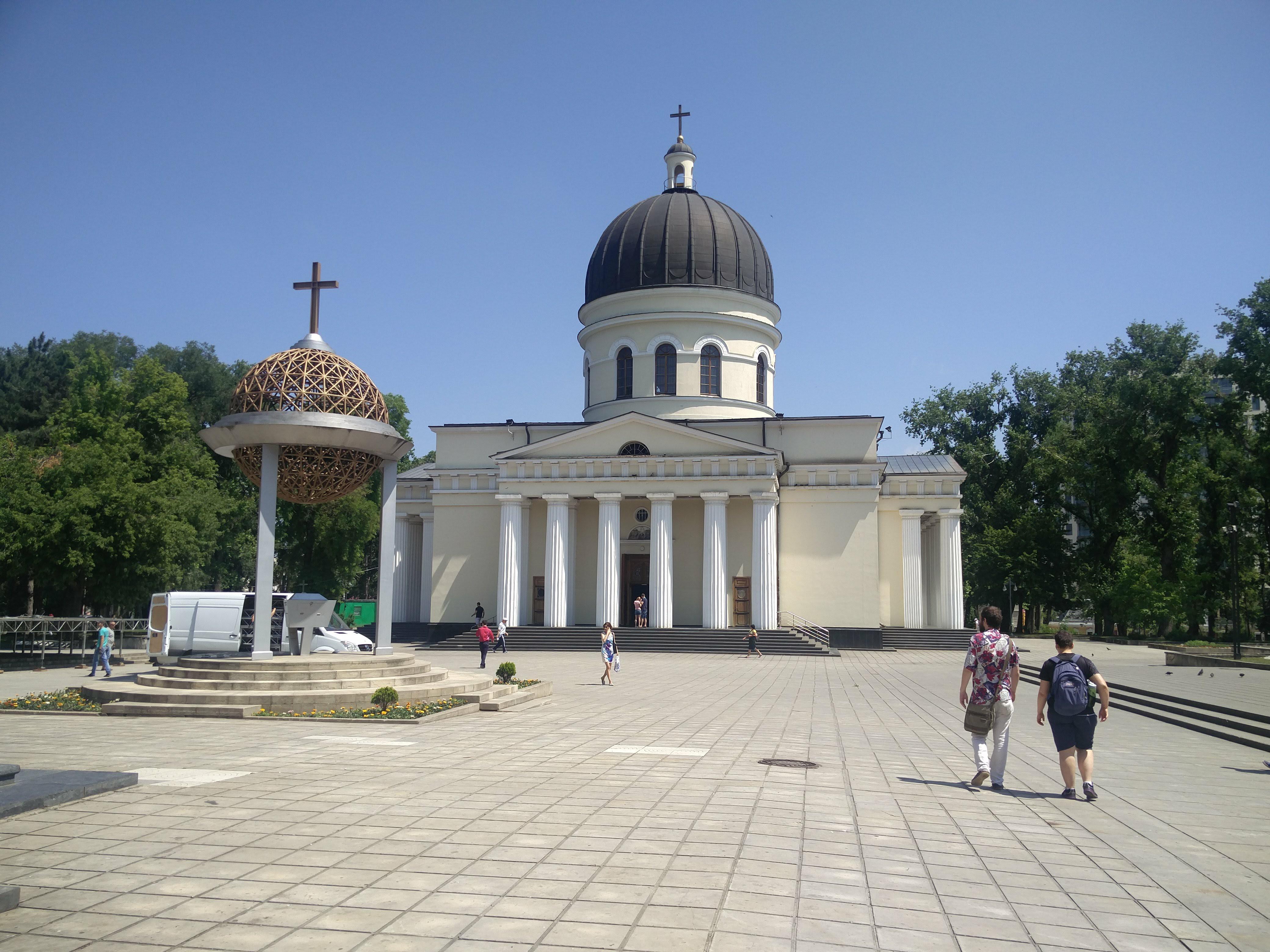 Découverte de Chisinau en Moldavie