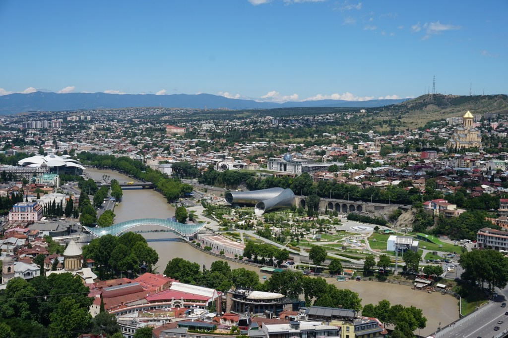 view tbilisi