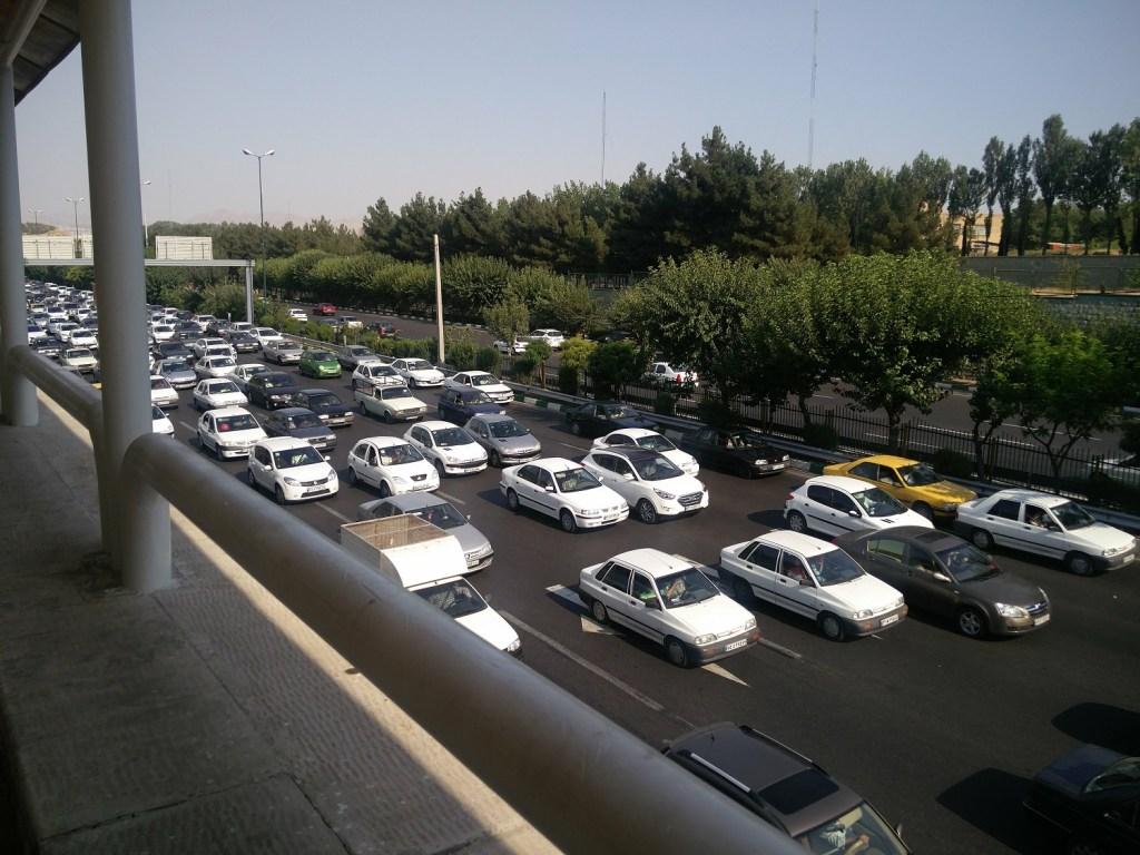 traffic tehran