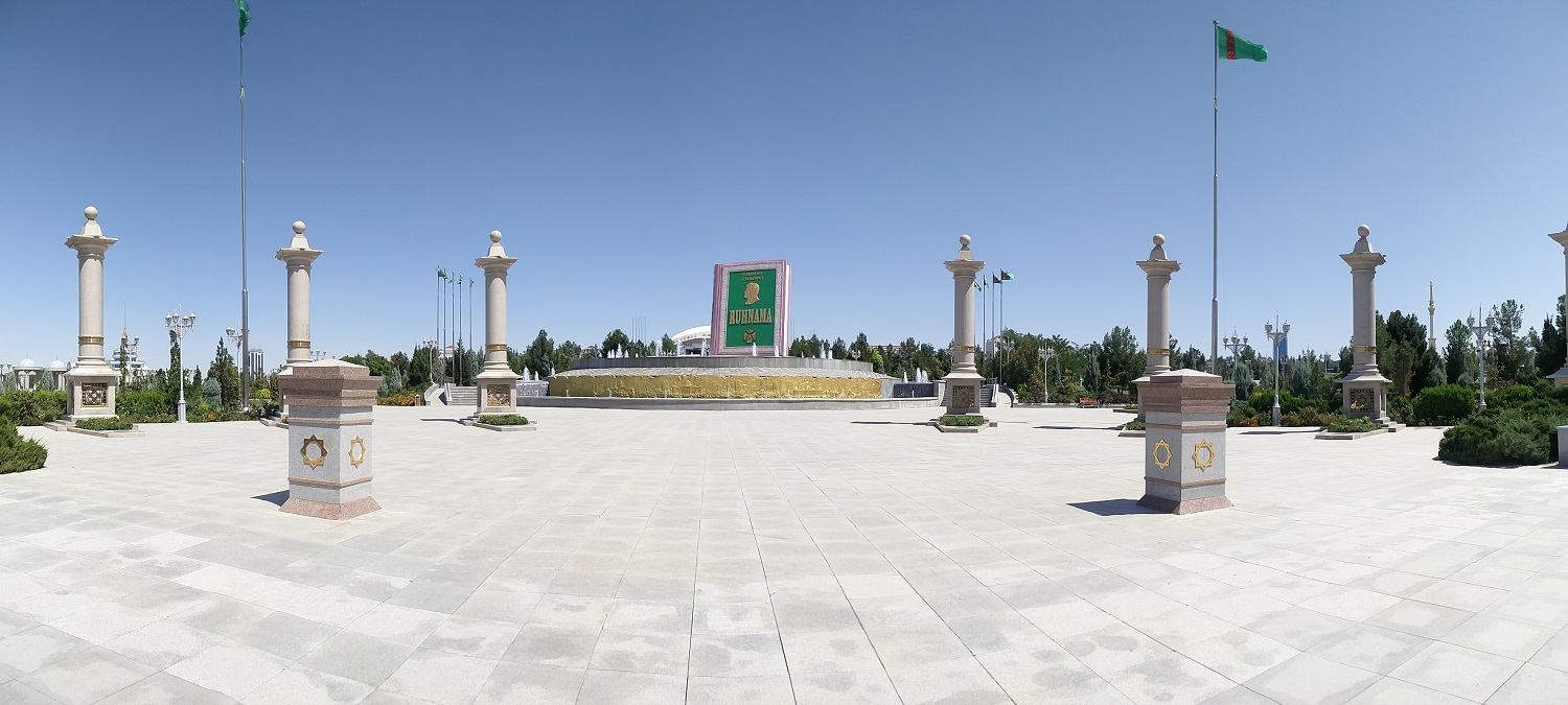 Discovering Ashgabat, the capital of Turkmenistan