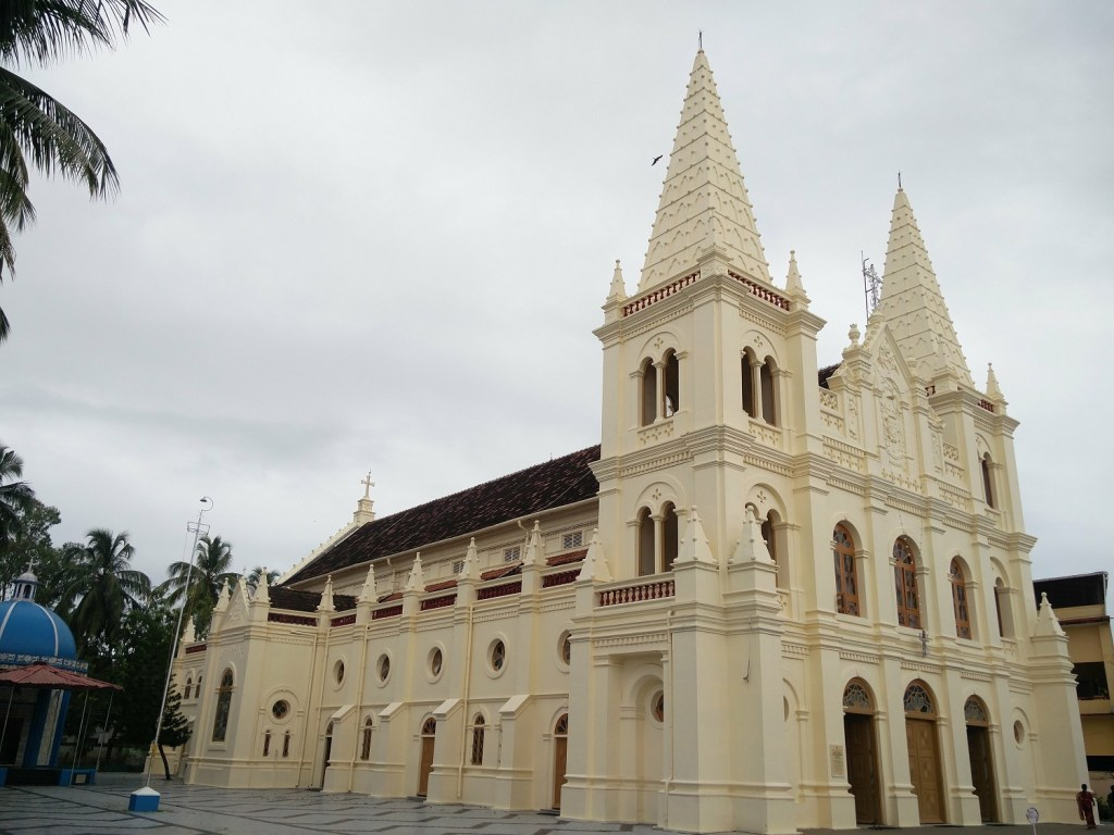 santa cruz cathedral basilica kerala