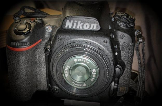 Pinhole Adapter on Nikon D750