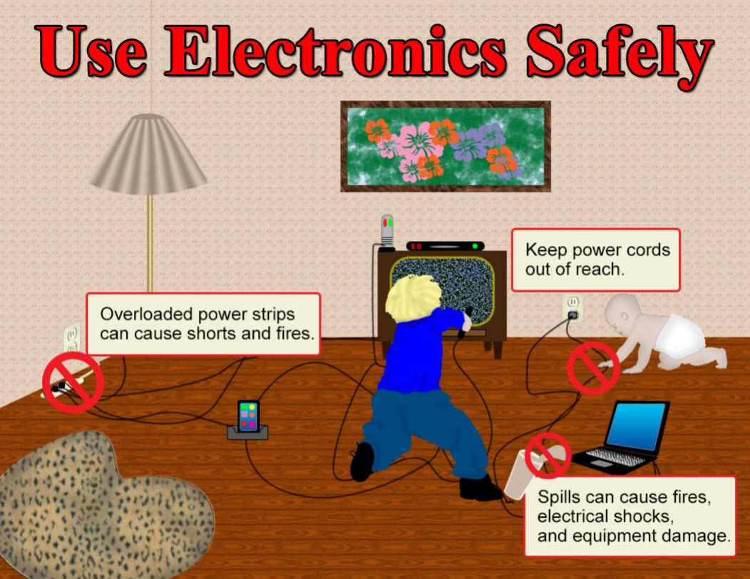 Use Electronics Safely