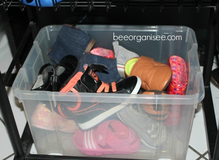 ranger chaussures enfant