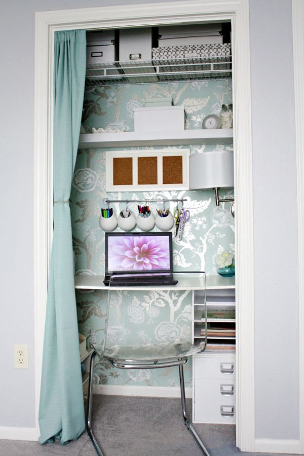 S 39 am nager un coin bureau la maison bee organis e for Amenager un bureau dans un petit espace
