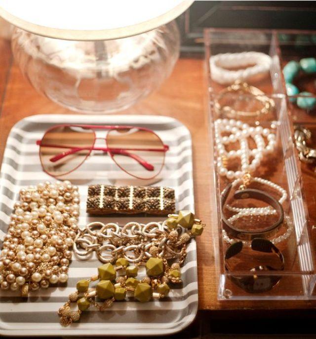 plateau pour les bijoux