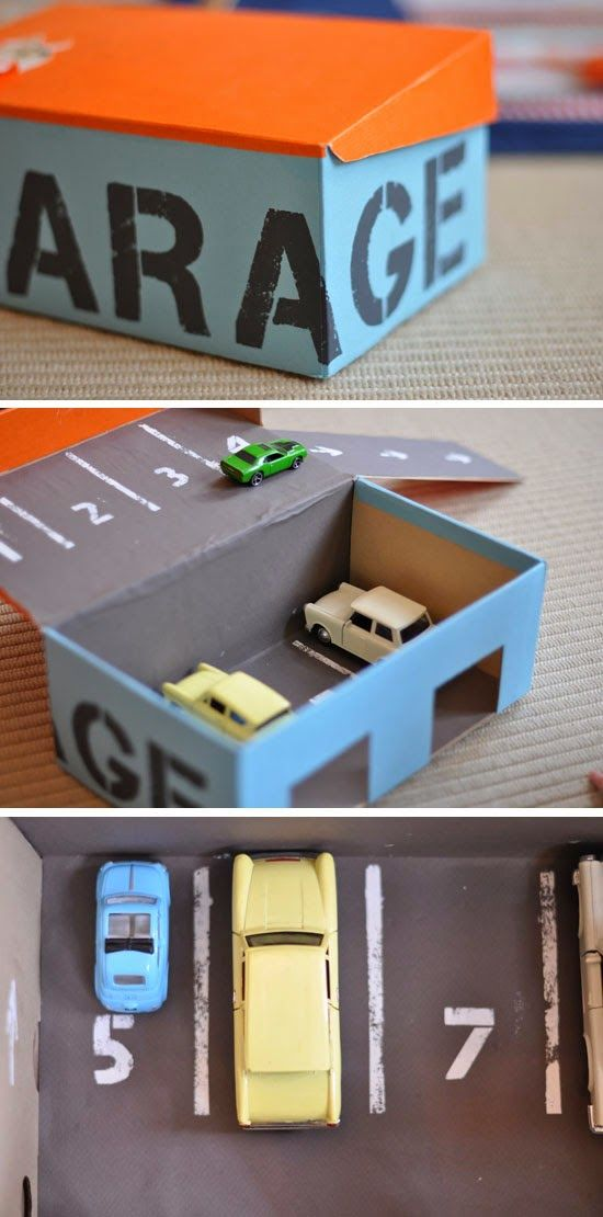 diy des jouets en carton bee organis e. Black Bedroom Furniture Sets. Home Design Ideas
