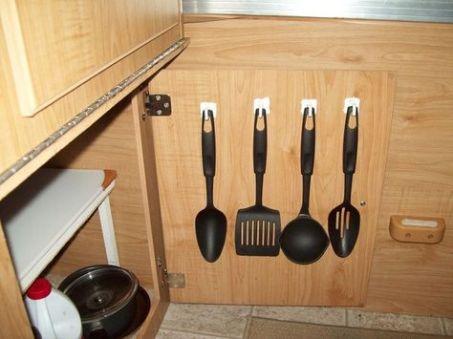 accrocher ustensiles de cuisines