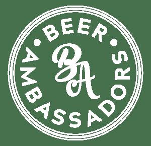 Beer Ambassadors Logo weiß auf schwarz