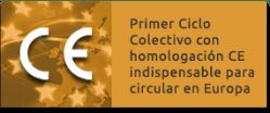 Primer Ciclo Colectivo con Homologación CE indispensable para circular en Europa