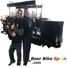 beer bike team