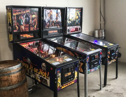 Who doesn't love a bar with pinball?
