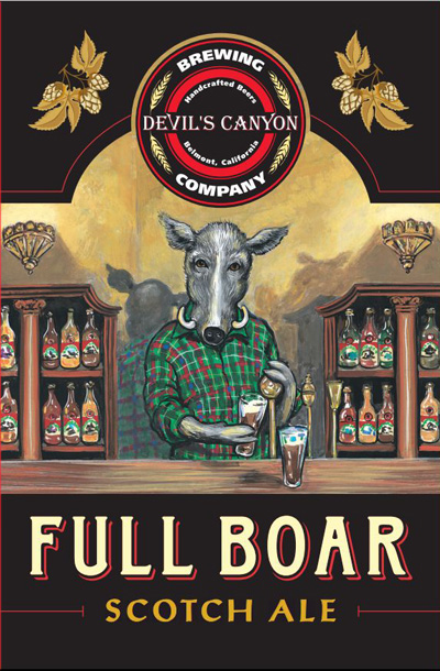 Image result for devil's canyon full boar scotch ale pictures