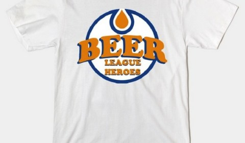 Beer League Heroes Official T-Shirt