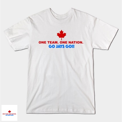 I know this is a hockey site but it's hard not to get come down with Blue Jays Fever! #ComeTogether folks and grab a shirt!