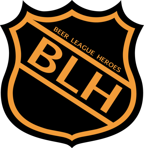 Old NHL Style BLH Logo