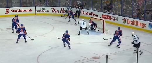 So how about that umbrella formation? I guess Nilsson has the man in front?