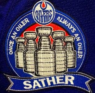Sather Night Badge