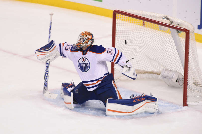 Nearly 50 saves for Talbot 5000! That's they way you impress your coach! Photo Courtesy of Maddie Meyer.
