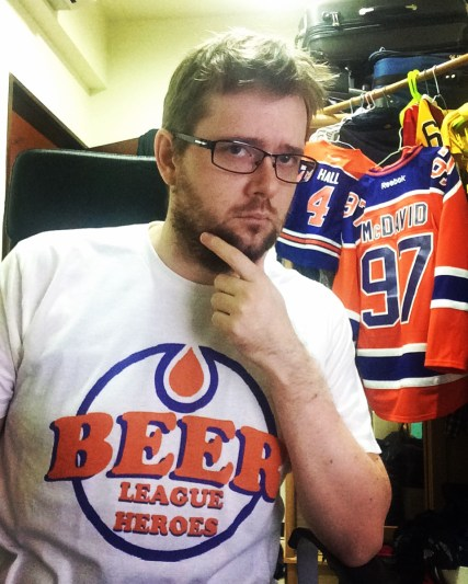 @beerleagueheroe has his favorite shirt! Do you?