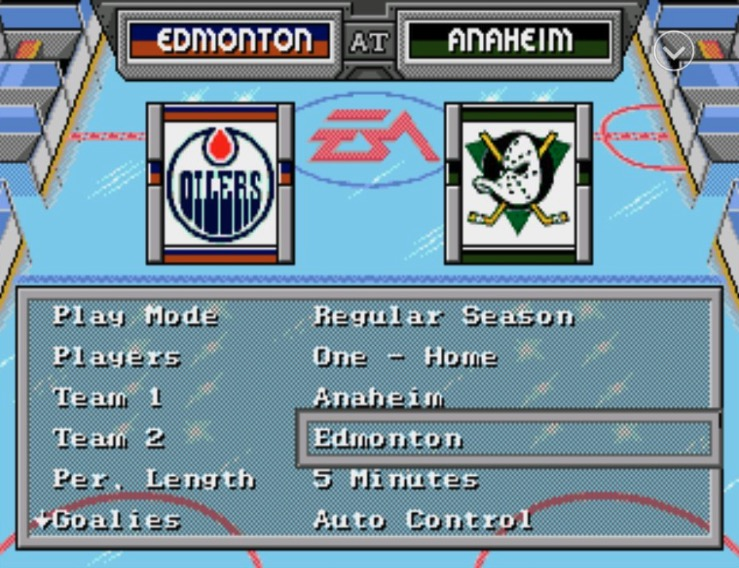 The Edmonton Oilers Are Playing Bad So I Put Nhl 94 On My Phone How To Beer League Heroes