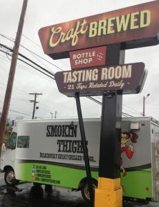 Sign food truck