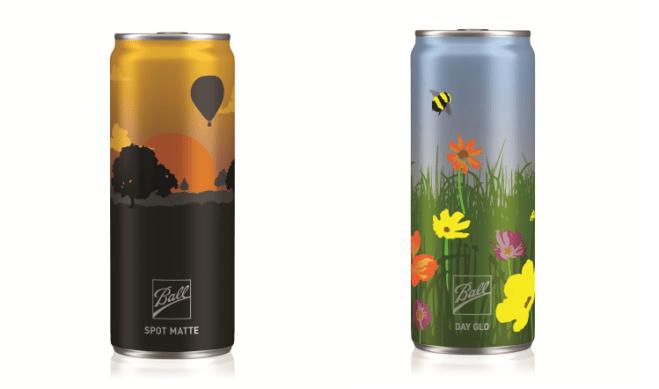 beer can branding