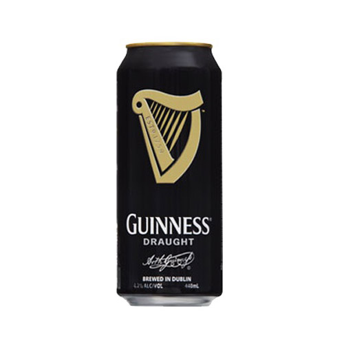 Guinness Draught can