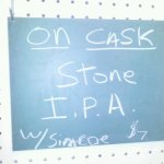 Stone IPA with Simcoe