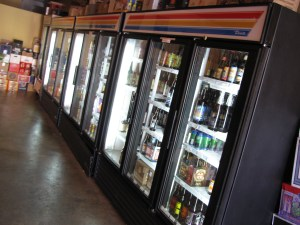 Sunset Beer Company - beer fridges