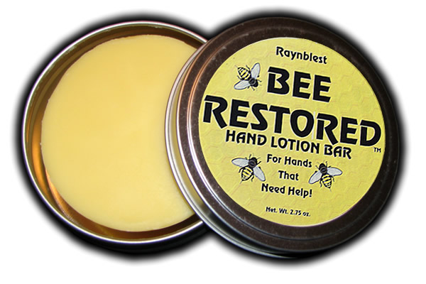Bee Restored Natural Hand Lotion Bar
