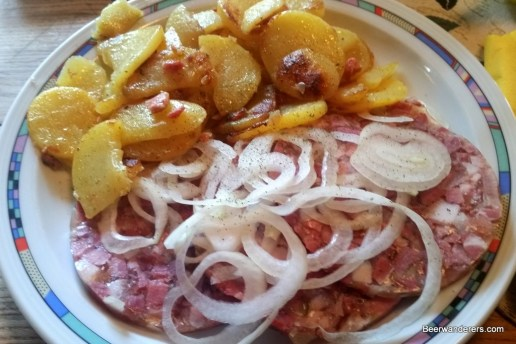 jellie meat with onions